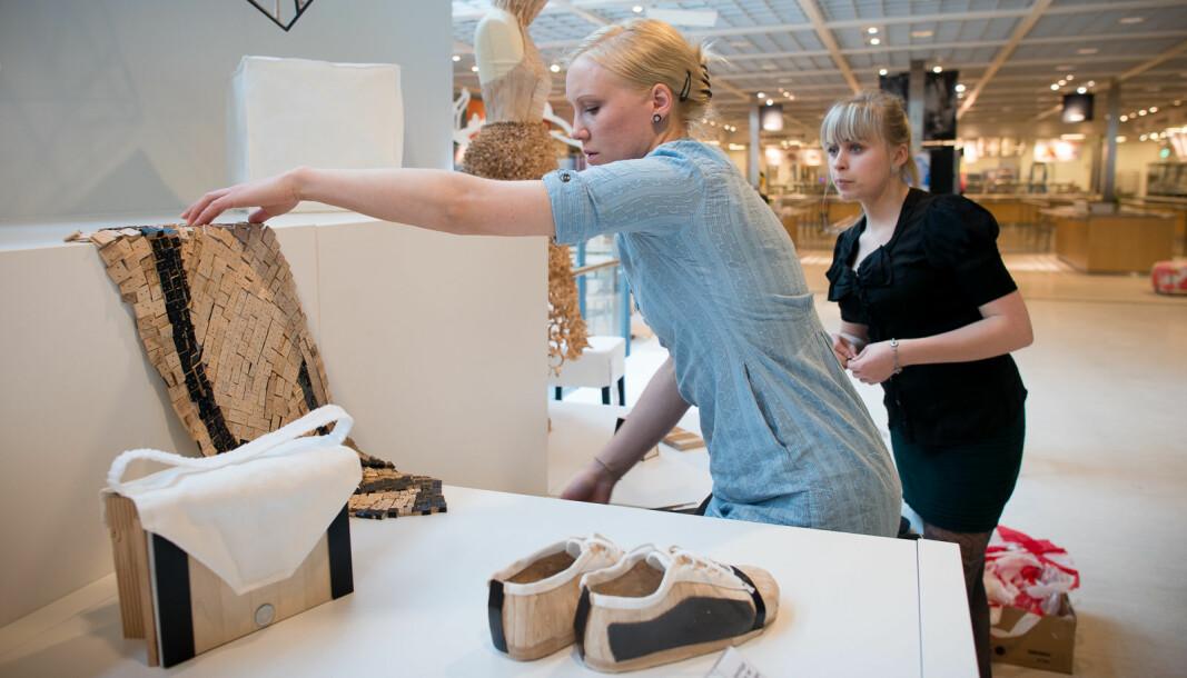 Illustrasjonsfoto: Studenter fra produktdesign ved OsloMet stillet ut på Ikea.