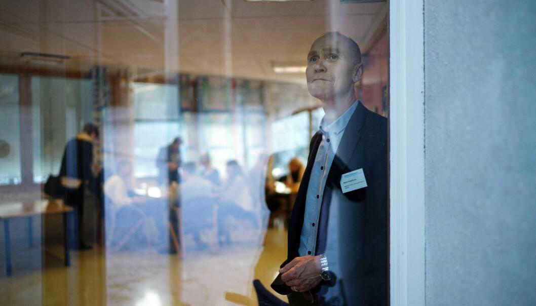 Steinar Kristoffersen er rektor ved Høgskolen i Molde. Foto: Ketil Blom Haugstulen
