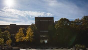 Universitetet i Oslo på Blindern.