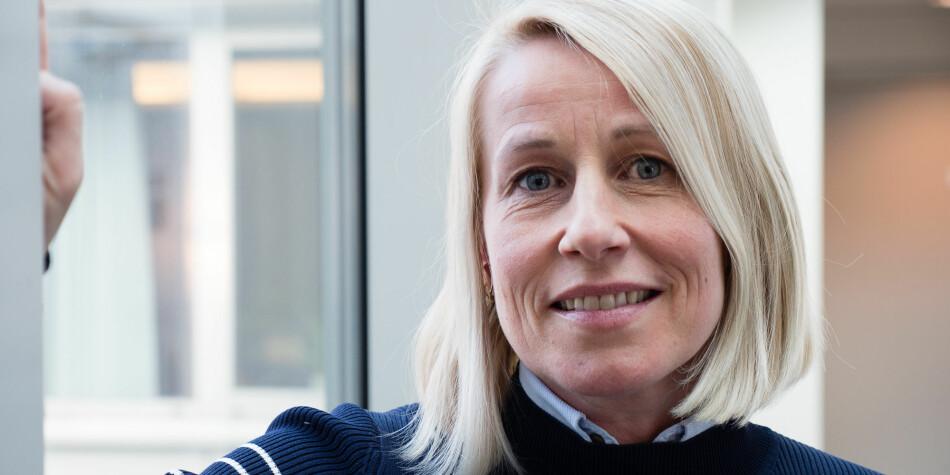 Marianne Synnes Emblemsvåg er glad for at UH-utvalget foreslår å fjerne mulighet til å bruke kjønnspoeng ved opptak til høyere utdanning. Foto: Petter Berntsen