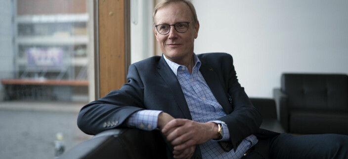 Peter Tornquist, rektor ved Norges musikkhøgskole er en av de få som er positiv til direktoratene i universitets- og høgskolesektoren.