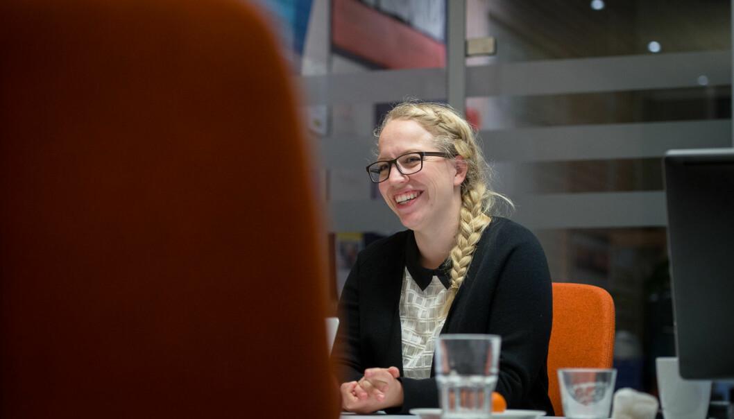 Tidligere var Anita Tøien studentombud ved det som nå heter OsloMet. Nå har hun fått samme jobb på BI. Foto: Skjalg Bøhmer Vold