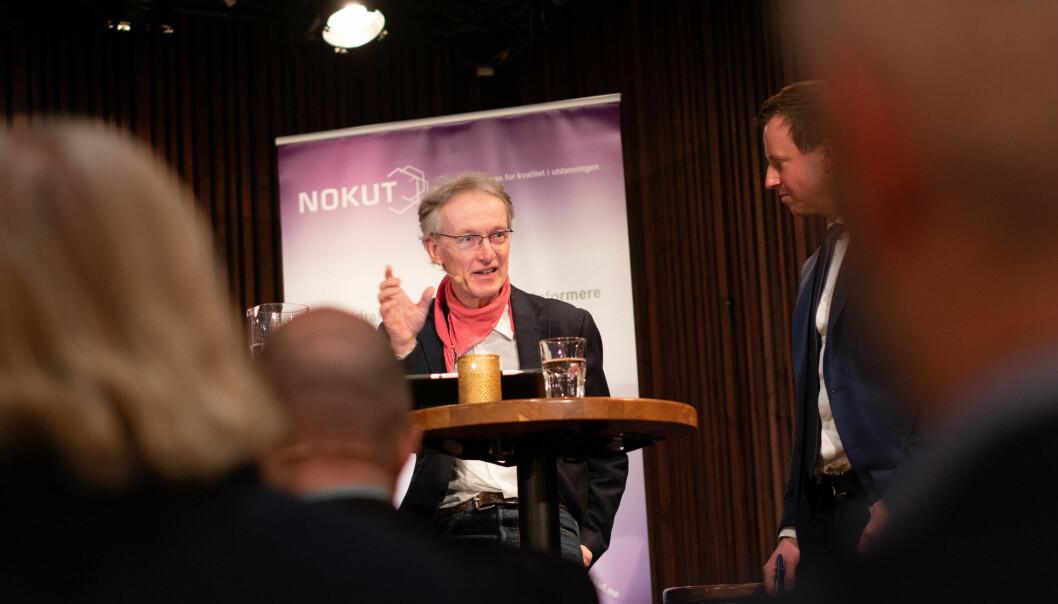 Instituttleder Tor Egil Førland ved IFIKK mener det er vanskelig å finne årsaken til at strykprosenten på ex.phil. gikk ned i 2020.