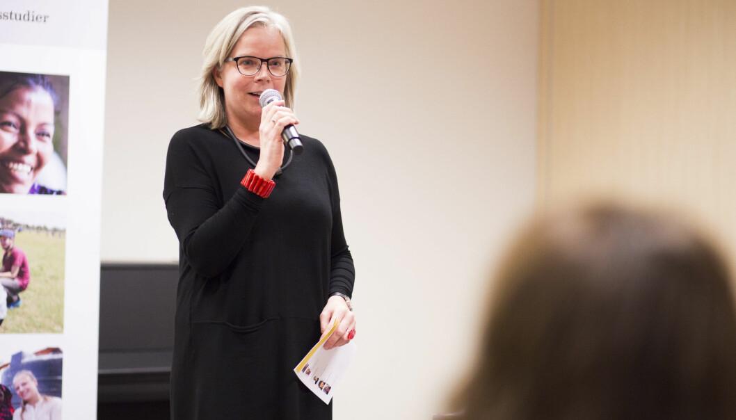 — Vi har stor forståelse for at endringene i undervisning og eksamen på grunn av pandemien har vært krevende for studentene, sier instituttleder Hilde Arntsen.