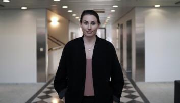 Leder av NSO, Marte Øien, forteller om stor pågang fra studenter i økonomiske vansker.