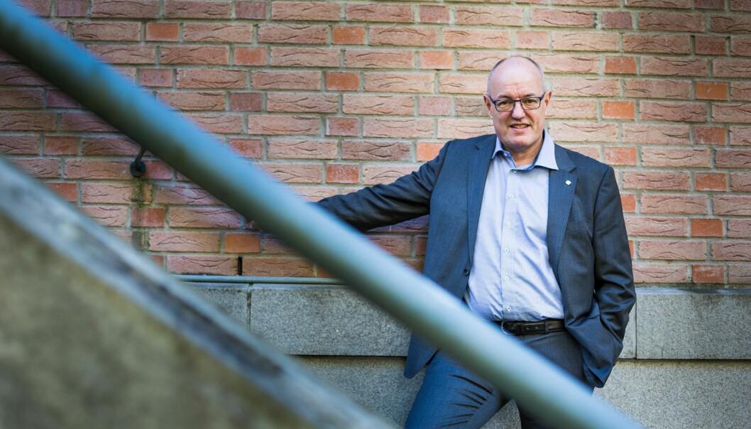 Gunnar Bovim, tidligere rektor ved NTNU , er en av fem som skal svare på hva som vil være et godt system for styring av universitets- og høgskolesektoren. Foto: Siri Øverland Eriksen