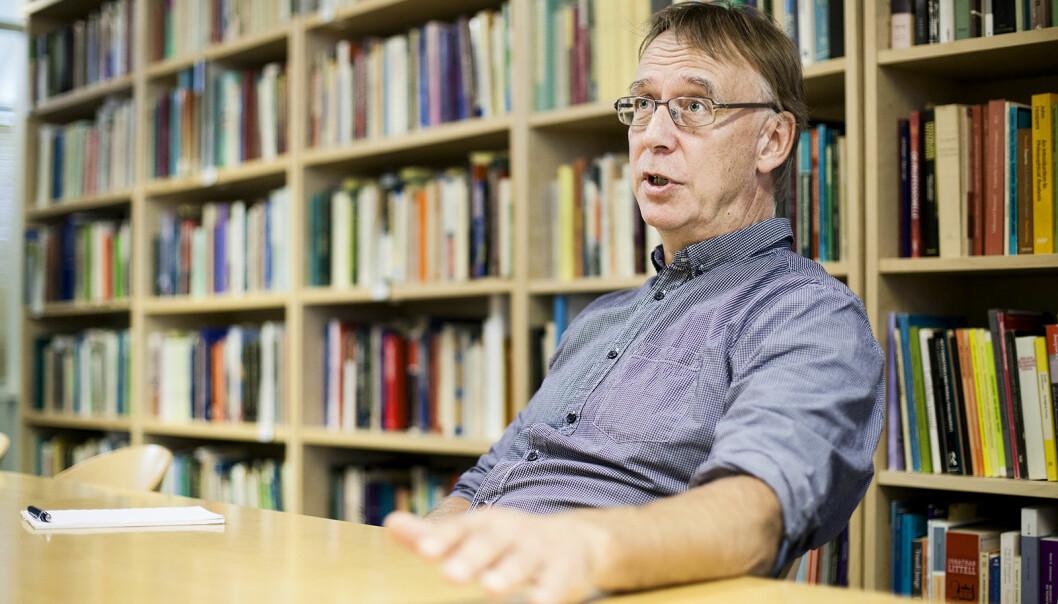 — Det er klart at de klassiske universitetsidealene fra Humboldt ikke passer som hånd i hanske for hvordan man burde tenke om profesjonsutdanningene, sier Jan Messel.