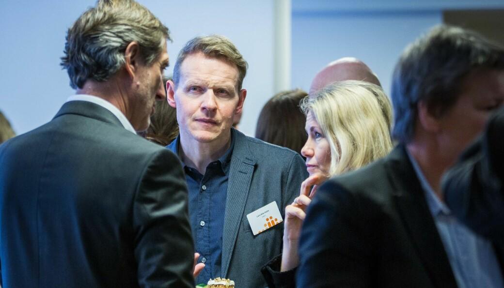 Kunnskapsdepartementet støtter NMBU og direktør Lars Atle Holm (bildet) sammen med de andre institusjonene i den såkalte UH-17-gruppen som har valgt å sette en mulig overgang til DFØs økonomi- og personalsystemer på vent.