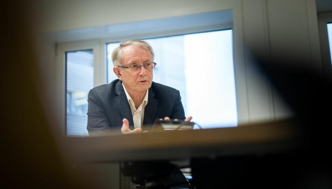 Styreleder ved Høgskulen på Vestlandet, Arvid Hallén er godt fornøyd med å lyse ut hele sju toppstillinger ved HVL.
