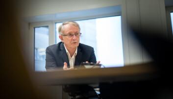 Arvid Hallén er ekstern styreleder ved Høgskulen på Vestlandet. Foto: Skjalg Bøhmer Vold