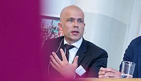 Rektor Lars-Petter Jelsness-Jørgensen tek sterk avstand frå det Meselu har opplevd.