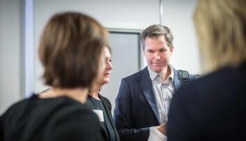 John-Arne Røttingen i Forskningsrådet sier at de ikke tar private oppdrag for å tjene penger. Foto: Siri Ø. Eriksen