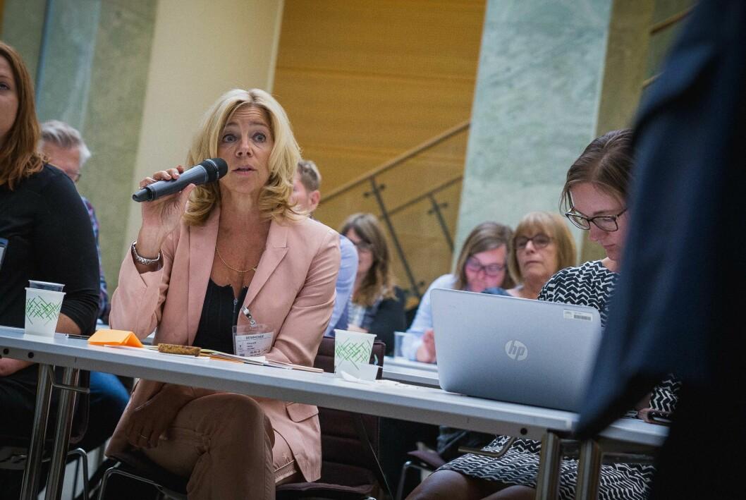 Prorektor for utdanning ved OsloMet, Nina Waaler, er en av dem som vil se nærmere på vurderingsformene.