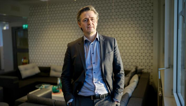 Organisasjons- og virksomhetsdirektør, Asbjørn Seim, ledet OsloMets beredskapsgruppe og krisehåndteringen ved universitetet våren 2020.