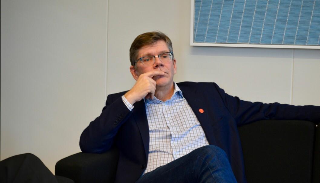 UiO-rektor Svein Stølen, liker ikke eierskapsmodellen som nå velges for Livsvitenskapsbygget.