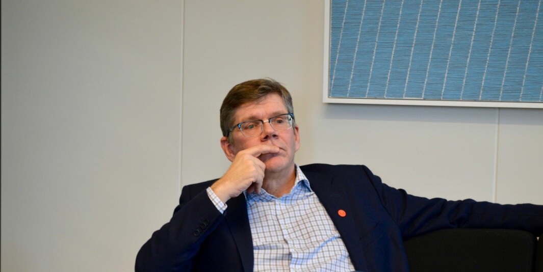 — Jeg mener vi ikke bare må akseptere, men også applaudere, at ulike institusjoner i Norge er ulike, skriver UiO-rektor Svein Stølen i et svar til rektor ved Universitetet i Sørøst-Norge, Petter Aasen. Foto: Øystein Fimland