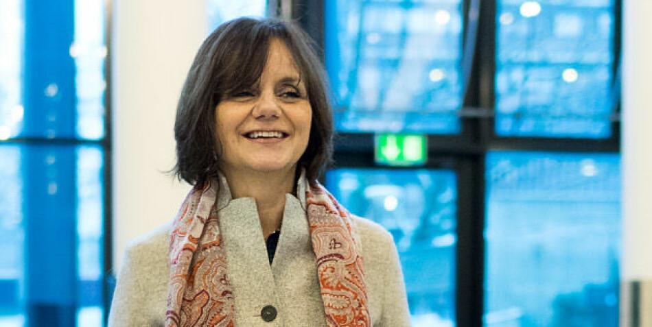 Åse Gornitzka trekker fram direktoratisering som element når hun omtaler dagens styringspolitikk overfor universiteter og høgskoler. Foto: Ketil Blom Haugstulen