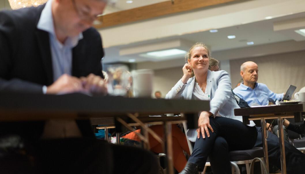 Adm. dir. Mari Sundli Tveit i Forskningsrådet, fra en tidligere innspillsrunde til langtidsplanen for forskning og høyere utdanning i Kunnskapsdepartementet, da hun var rektor ved NMBU.
