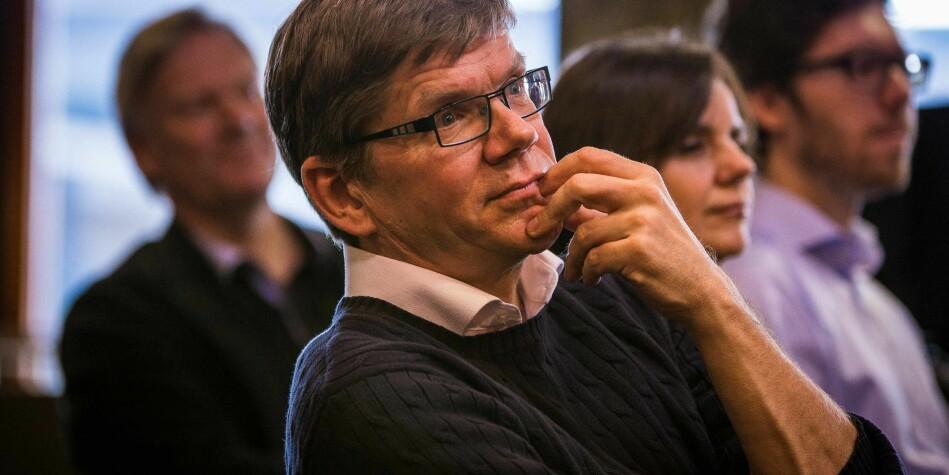 — At det finnes utfordringer skal ikke stikkes under en stol, sier rektor Svein Stølen om hvordan Universitetet i Oslo behandler midlertidig ansatte. Foto: Siri Øverland Eriksen