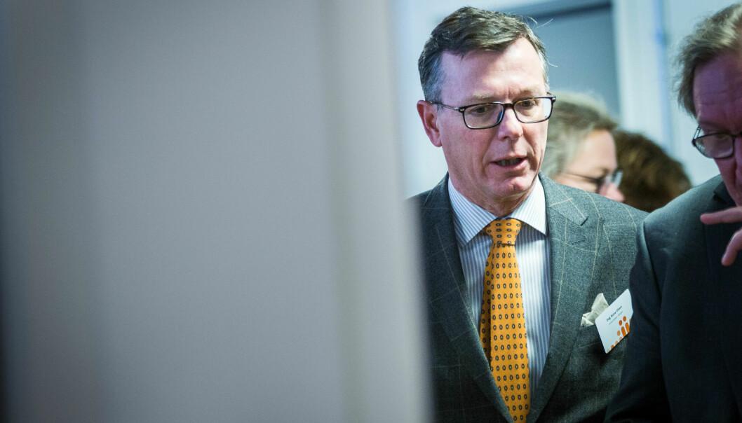 — Noe digital undervisning vil nok foregå hjemmefra, heller enn fra kontoret, sier rektor ved UiB, Dag Rune Olsen.