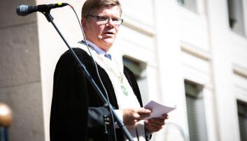 Rektor Svein Stølen.