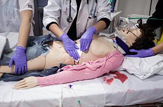 Avanserte pasientdukker gjør sykepleierutdanningen bedre