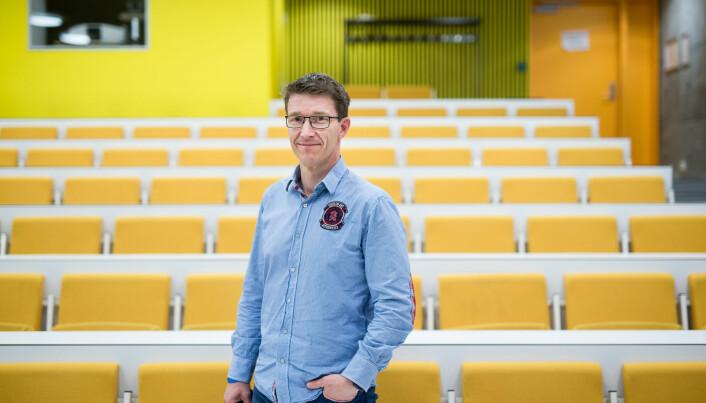 Informasjonssjef på Høgskolen i Østfold Tore Petter Engen.