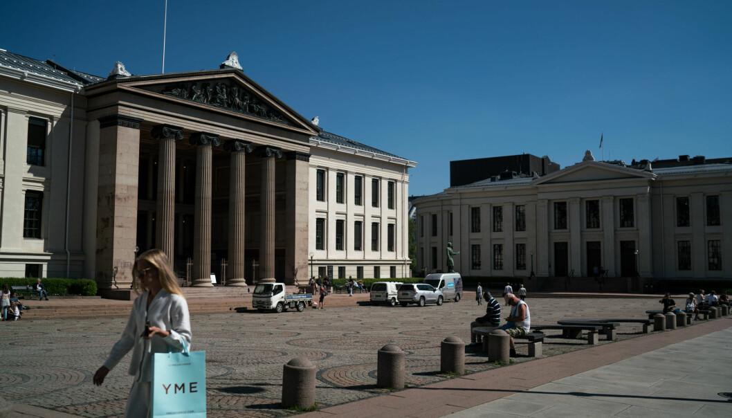 På det juridiske fakultet i Oslo.