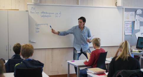 Kraftig nedgang i antall søkere til lærerutdanningene