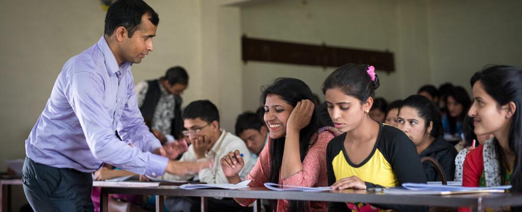 Færre studenter fra utviklingsland siste fire årene