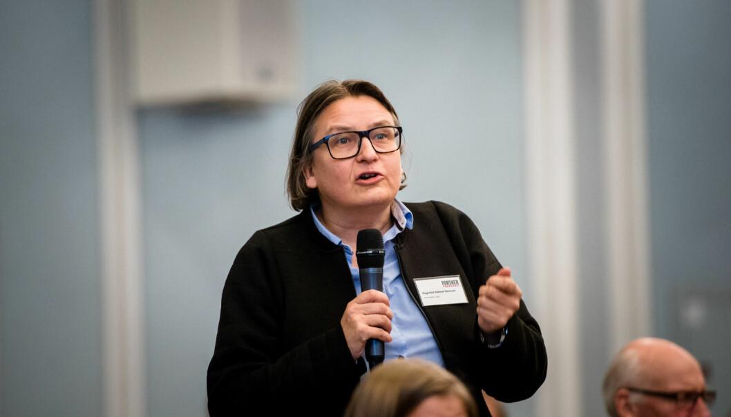 — Selv om vi hadde klart å holde lokalene i Silurveien trygge, har vi fått en veldig sterk oppfordring fra byrådet i Oslo om å ikke legge opp til bruk av kollektivtransport, sier Ragnhild Hennum, dekan ved Det juridiske fakultet.