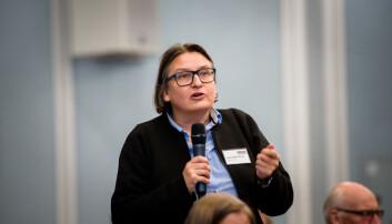 Dekan ved Det juridiske fakultet, Ragnhild Hennum, sier at det er ikke aktuelt for henne å stille til valg.
