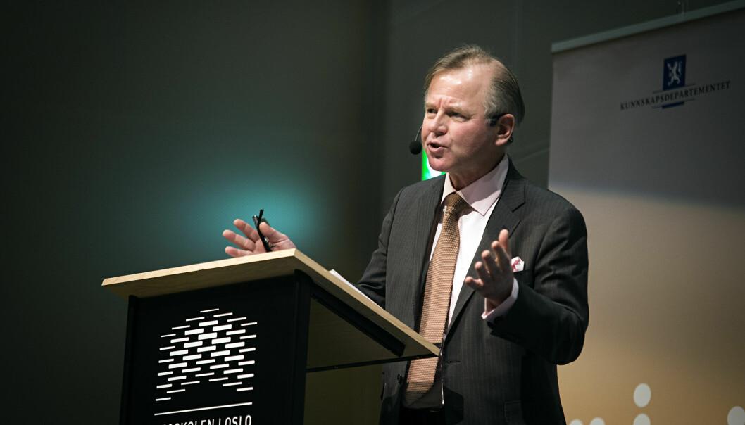 Ole Petter Ottersen, rektor ved Karolinska Institutet