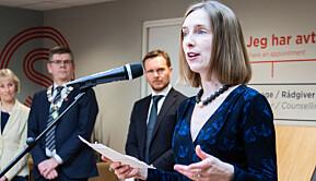 Næringsminister Iselin Nybø og regjeringen har bedt Forskningsrådet om å lyse ut nye millioner til forsking på koronakrisen.