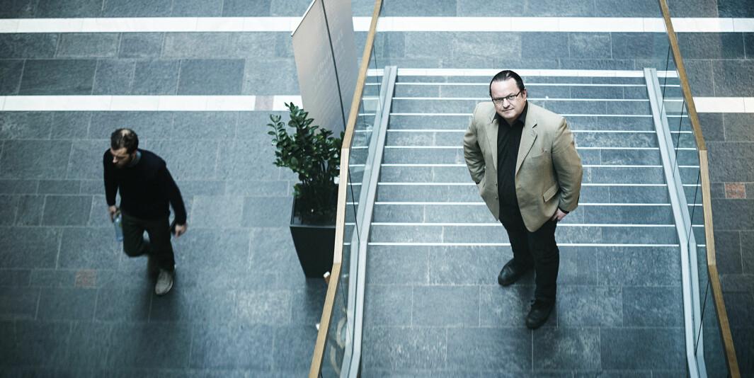 Rektor på høyskolen Kristiania, Arne Krumsvik, mener årets gode søkertall er godt nytt for prosjektet hans om å bli Norges første private universitet.