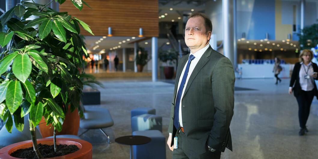 BI-rektor Jan Henjesand vil ikke delta i prestisjerangering i år, på grunn av koronakrisen.