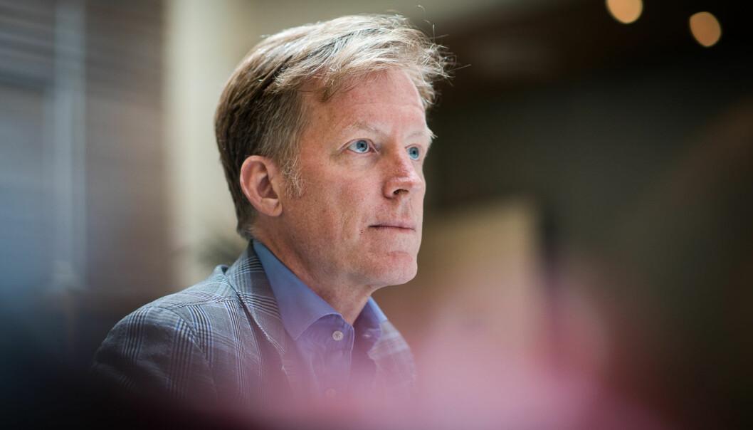 — «Det blir litt rotat det her», sier OsloMet-rektor Curt Rice og legger til: Jeg er også frustrert,