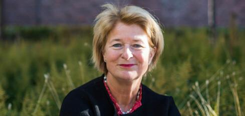 08.10.2018 Stasbudsjettet ble lagt frem. Statsråd Iselin Nybø legger det frem på UiO.