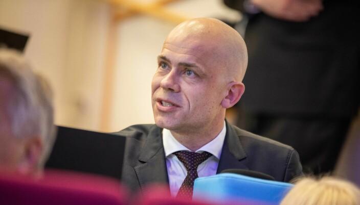 Lars-Petter Jelsness-Jørgensen, rektor på Høgskolen i Østfold.