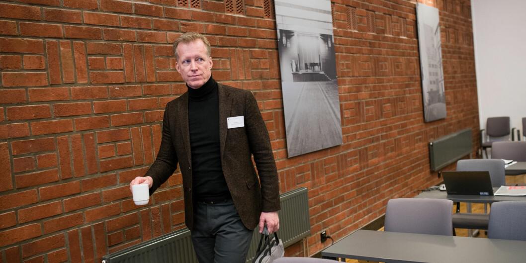 Rektor på OsloMet, Curt Rice, synes det er uheldig at universitetet må bruke Statsbygg som rådgiver ved inngåelse av nye leiekontrakter. Foto: Skjalg Bøhmer Vold