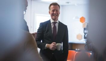 Rektor Curt Rice ved OsloMet har fått godkjent fra Nokuts sakkyndige.Foto: Siri Øverland Eriksen