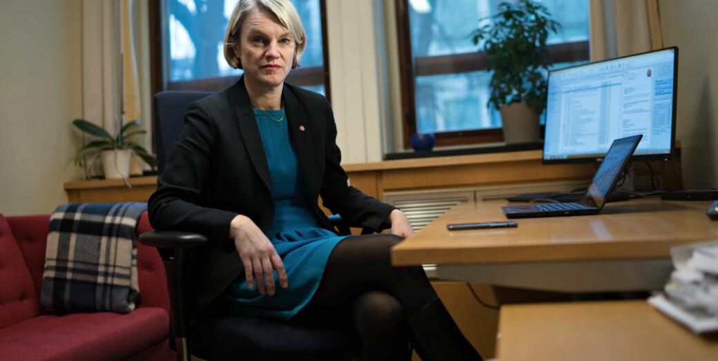 Nina Sandberg er godt fornøyd med innstillingen om kompetansereformen. Hun er overbevist om at mange vil forstå saken bedre når de får lest innstillingen og merknadene.