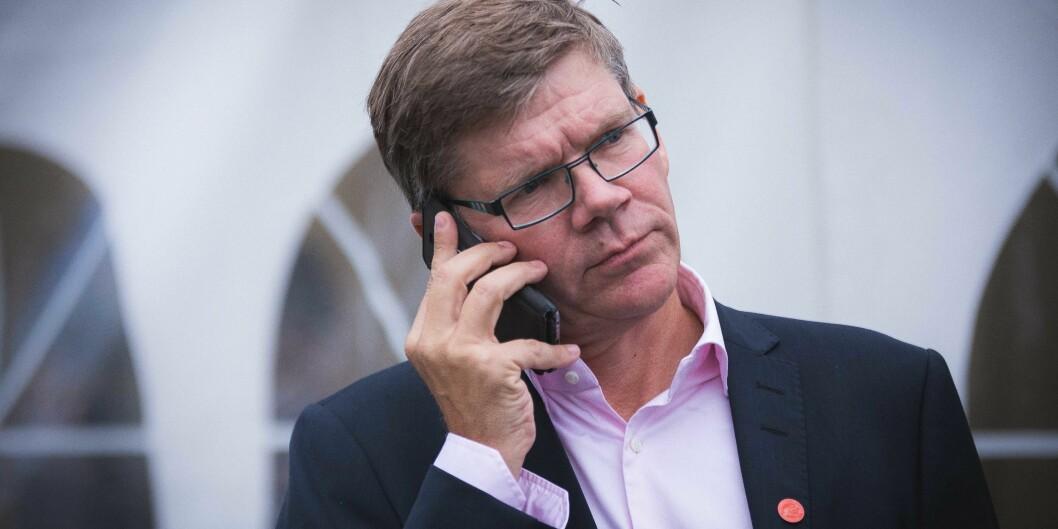 Rektor Svein Stølen ved UiO er lunken til mer rangering.