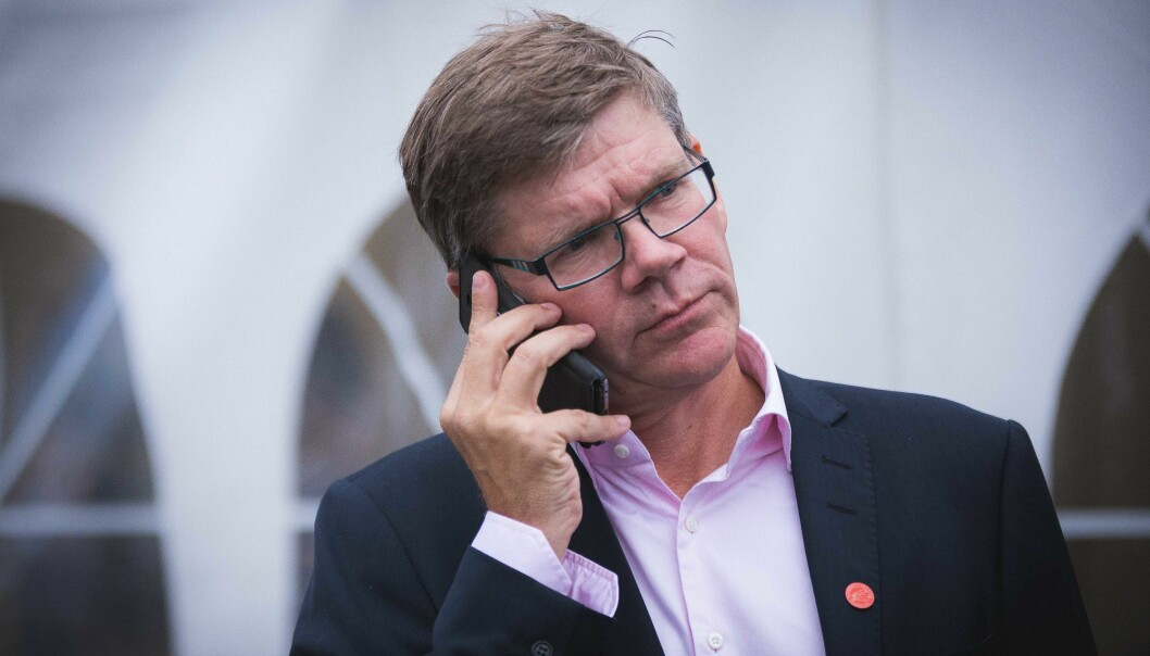 Rektor Svein Stølen ved Universitetet i Oslo vil ha retningsskifte. Foto: Siri Øverland Eriksen
