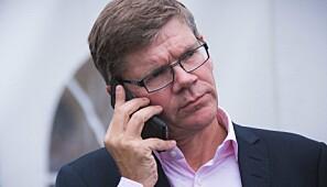 Rektor Svein Stølen vil invitere Ferd til samtaler om Marienlyst-tomta. Foto: Siri Øverland Eriksen