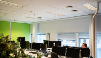 Skal forske på korona-smitte i kontorlandskap