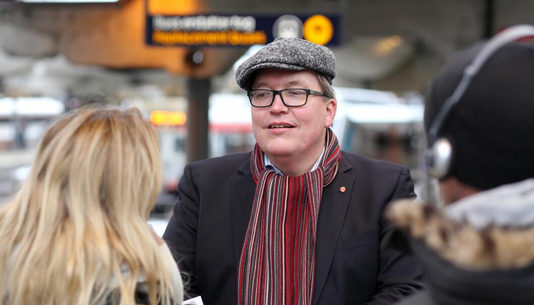 — Dette er politikk med stor alvor, sier stortingsrepresentant Sverre Myrli. Foto: Bernt Sønvinsen/Arbeiderpartiet