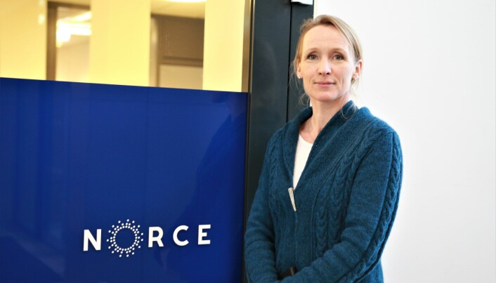 Plastforsker Marte Haave ved Norce skulle helst sett at plasthvalen førte til mer midler til forskning på problemet. FOTO: Jan Willie Olsen