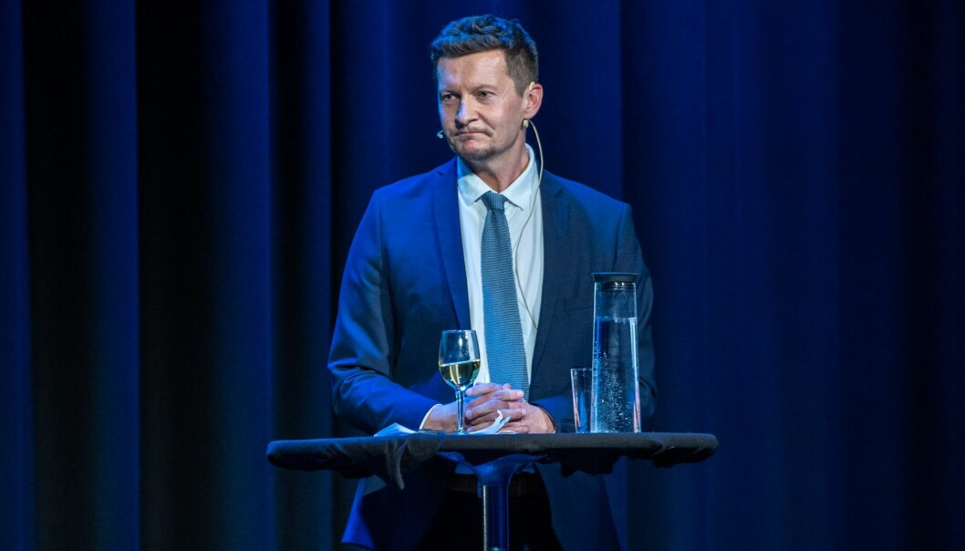 Terje Mørland, administrerende direktør i Nokut, mener det er hensiktsmessig å gi Nord universitet to år til å rette opp manglene i det aktuelle doktorgradsprogrammet. Foto: Nokut