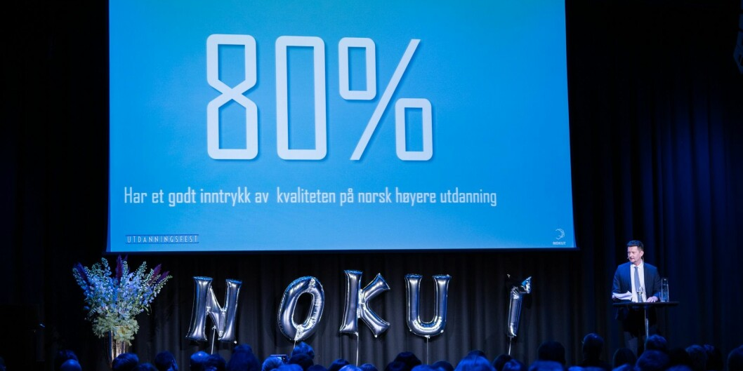 Terje Mørland, administrerende direktør i Nokut. Foto: Nokut